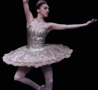 Rumpf raises the barre throughout dancing career