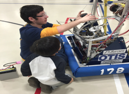 Robotics provides activities for students to dream FIRST