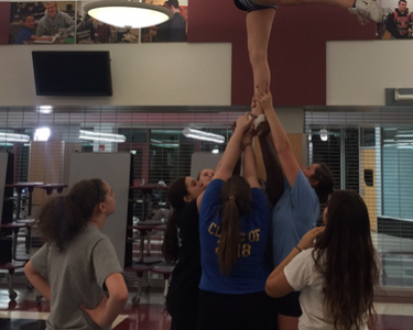 Competitive cheer season gets underway