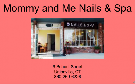 Mommy and Me Nails Spa Advertisement