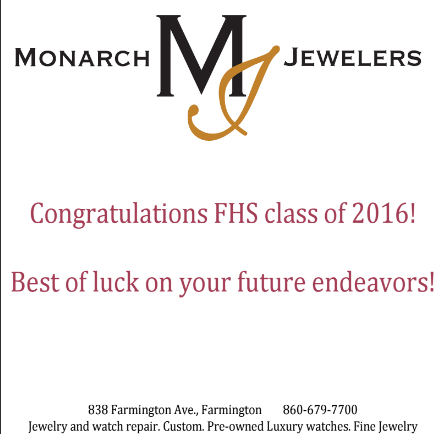 Monarch Jewelers Advertisement