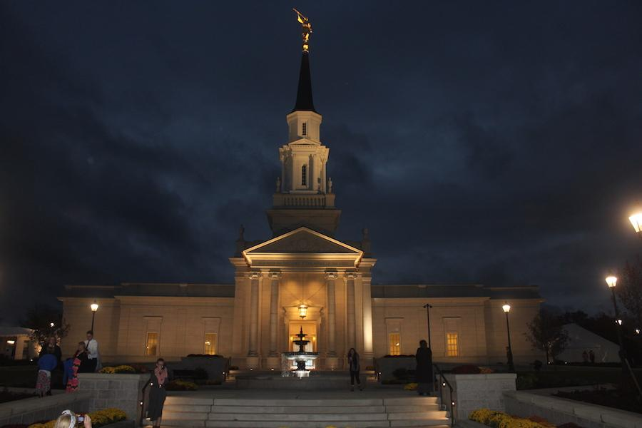 Open for tours-- The Hartford Connecticut Temple is open for tours after years of construction. The church will be officially dedicated on November 20 to the Mormon faith.