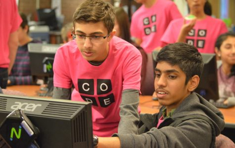 Robotics team enforces the code