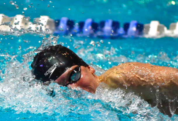 Cutting+through+the+competition--+Senior+Josh+Wroblewski+rips+through+the+water+during+the+200+meter+freestyle+at+State+Opens.+State+Opens+was+held+on+March+19+at+Yale+University+in+New+Haven%2C+Connecticut.+Wroblewski+plans+on+continuing+his+swim+success+as+a+Husky+at+the+University+of+Connecticut.