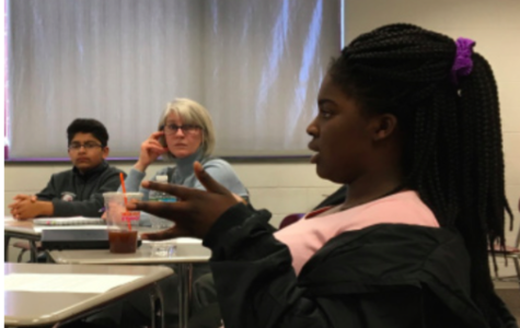 Students talk about school culture in focus groups