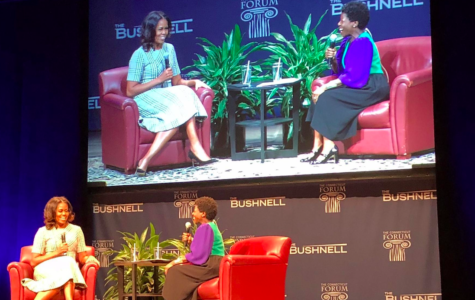 Michelle Obama speaks at CT Forum