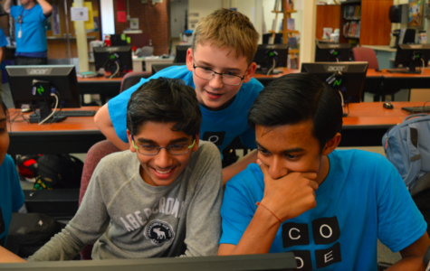 Hour of Code teaches programming to students and faculty
