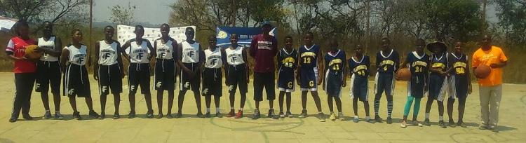 Ramsay, Dibgolongo, girls basketball program give back to