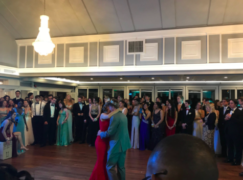 Senior class moves prom location