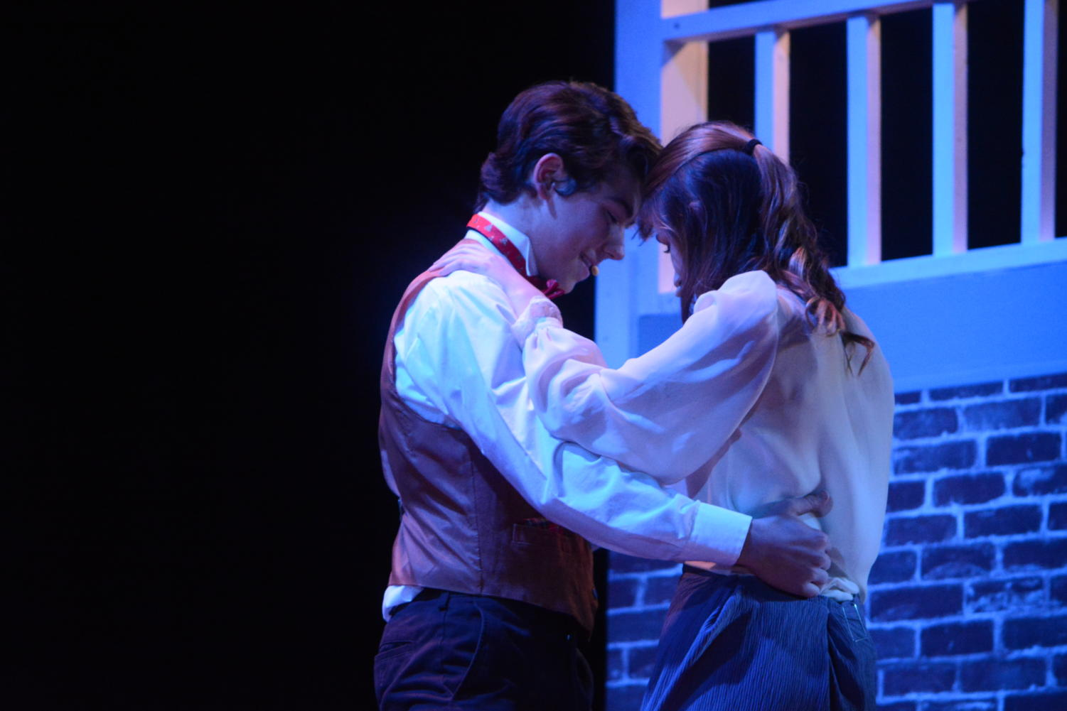 May+I+have+this+dance%3F--+Young+Scrooge%2C+played+by+junior+Evan+Adams+%28left%29%2C+dances+with+Belle%2C+played+by+junior%0AJessie+Clark+%28right%29%2C+during+a+scene+from+Scrooge%E2%80%99s+past.+This+is+Adams%E2%80%99+first+production+at+the+high+school.