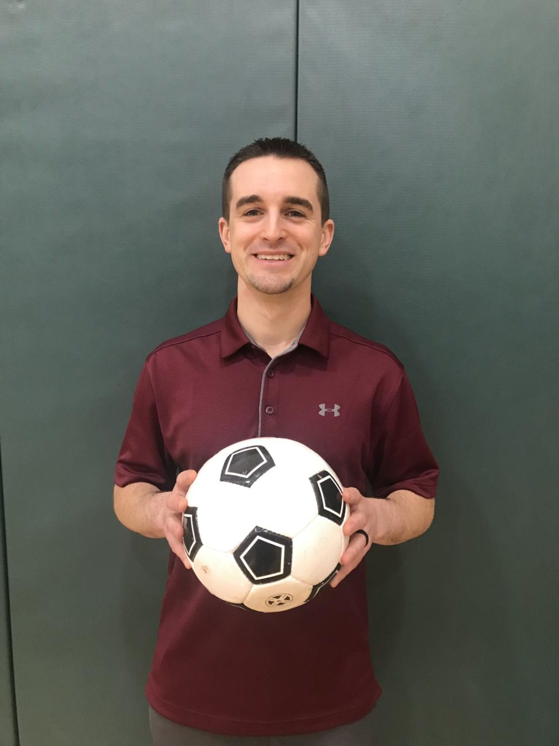 There's a new sheriff in town-- Former junior varsity coach Nicholas Boorman was named the new boys soccer varsity coach following the retiring of longtime varsity coach Steve Waters. Boorman hopes to build his team on the field, in the classroom, and in the community.