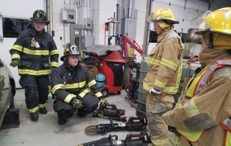 Fire cadets train to serve the public