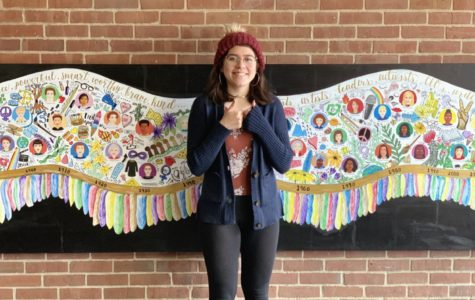 Empowerment project inspires girls, brings color to halls