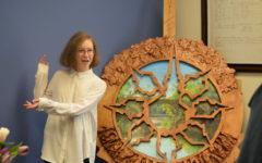 High school artist creates art piece for probate court
