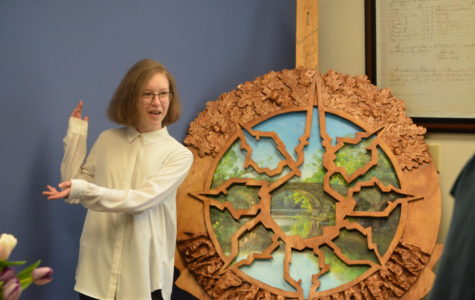 High school artist creates art piece for probate court