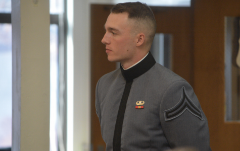 Minor, Cadet Witter give presentations in honor of Veterans Day