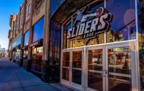 Featured above is Torrington's Sliders Grill and Bar, which is the newest location out of all six. Due to the state-mandated recommendations due to COVID-19, it is temporarily closed.