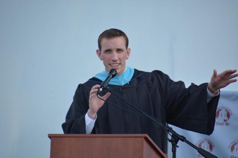 Mulcahy fittingly named 2020 graduation speaker