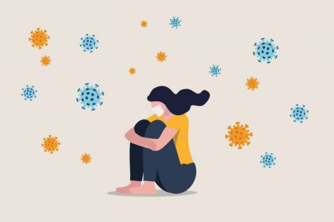 Under the mask -- Social distancing is a great way to conquer the COVID-19 virus, but takes a big hit on mental health. We must normalize talking about the mental health struggles that come with isolation.