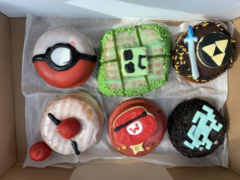 Sweet tooth -- Customers have various donuts to choose from, such as Mario and Pokemon themed designs. Deviant Donuts is well-known for its creative designs and fun flavors.