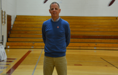 Team player -- Former Health and Wellness Department Leader Ed Manfredi has stepped into the role of Interim Athletic Director after the passing of Coach Jack Phelan. Manfredi retired as the department leader last year.