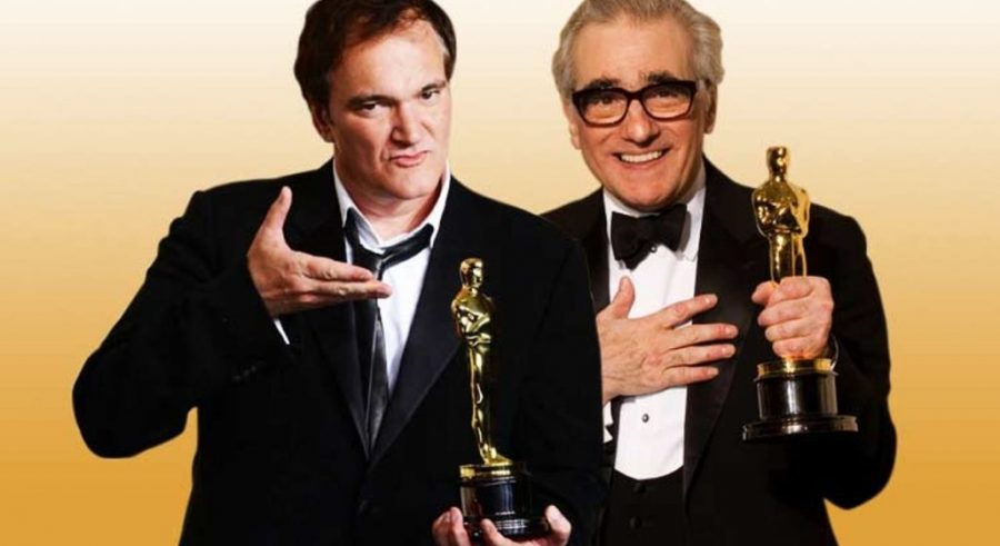 Martin Scorsese and Quentin Tarantino, two big Hollywood names side by side