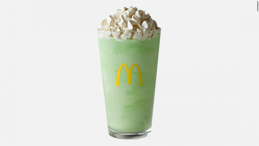 McDonalds' Shamrock Shake is best seasonal item