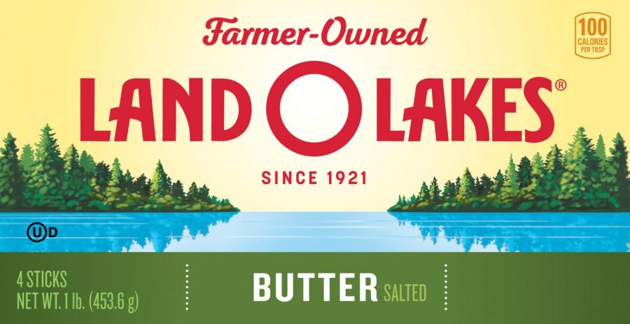"Butter brawl-- Land O'Lakes recently redesigned the look of their butter by removing Native American ""Mia"" from the front following backlash from online. Mia was designed by Robert DesJarLait of the Red Lake Ojibwe Nation."