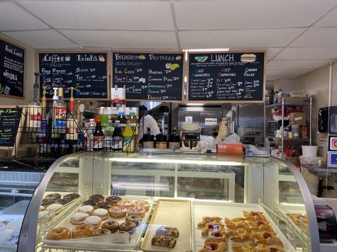 Good eats - Rosa's displays a variety of pastries and desserts to fill your stomach with. Rosa's also offers a full menu including breakfast and lunch foods to eat there or bring home.