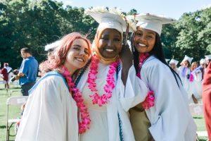 Class of 2021 graduates on home turf